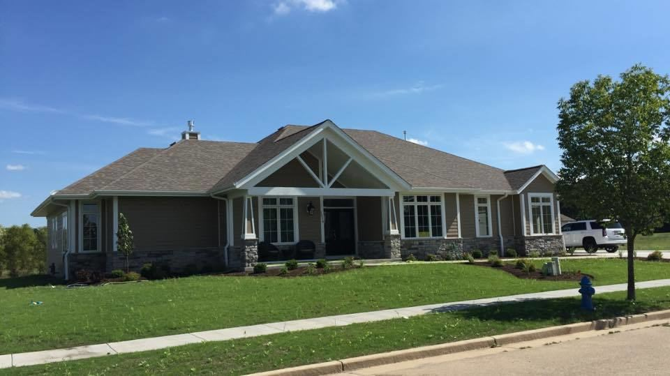 Burlington General Contractor Builds Ranch Home